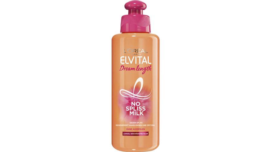 L OREAL PARIS ELVITAL Dream Length No Spliss Milk