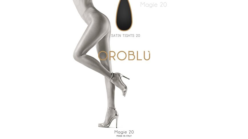 OROBLU Damen Feinstrumpfhose Pure Beauty Magie 20 DEN