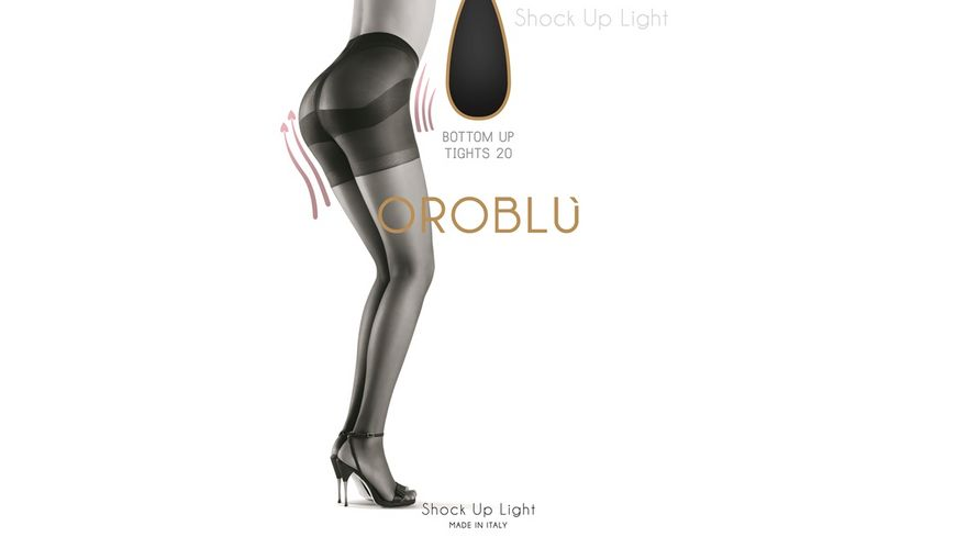 OROBLU Strumpfhose Light Shock Up 20 Bottom Up