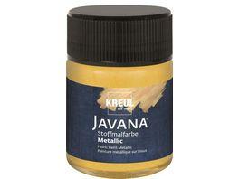 KREUL Javana Stoffmalfarbe metallic gold