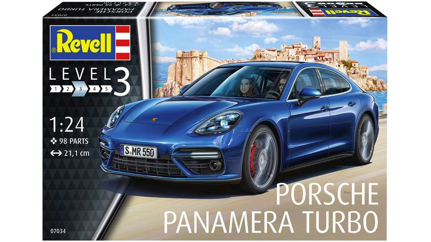 Revell 07034 Porsche Panamera 2