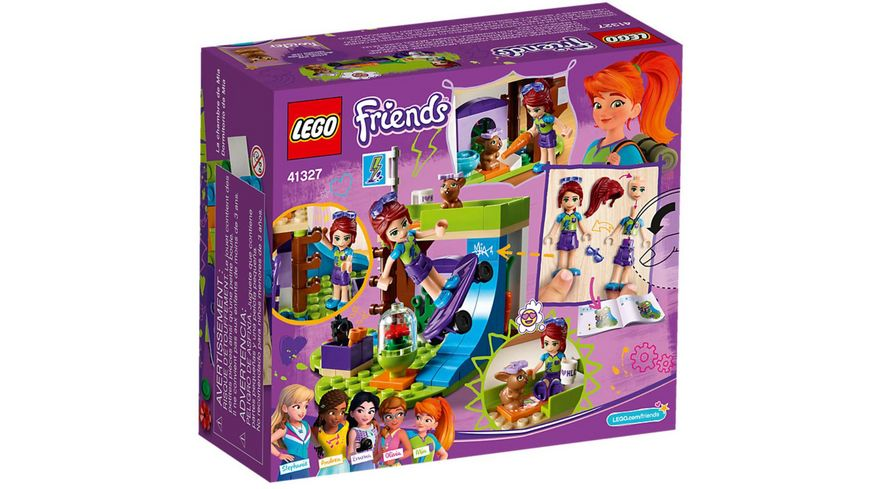 LEGO Friends 41327 Mias Zimmer