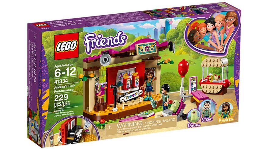 LEGO Friends 41334 Andreas Buehne im Park