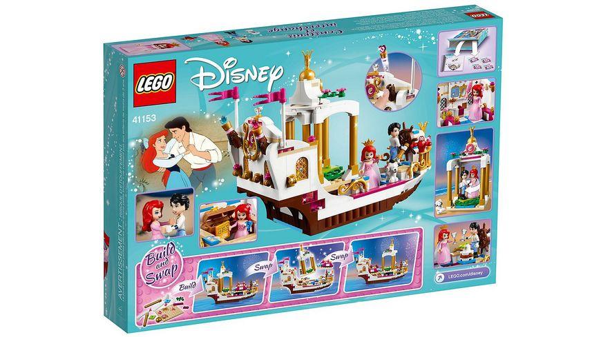 LEGO Disney Princess 41153 Arielles koenigliches Hochzeitsboot