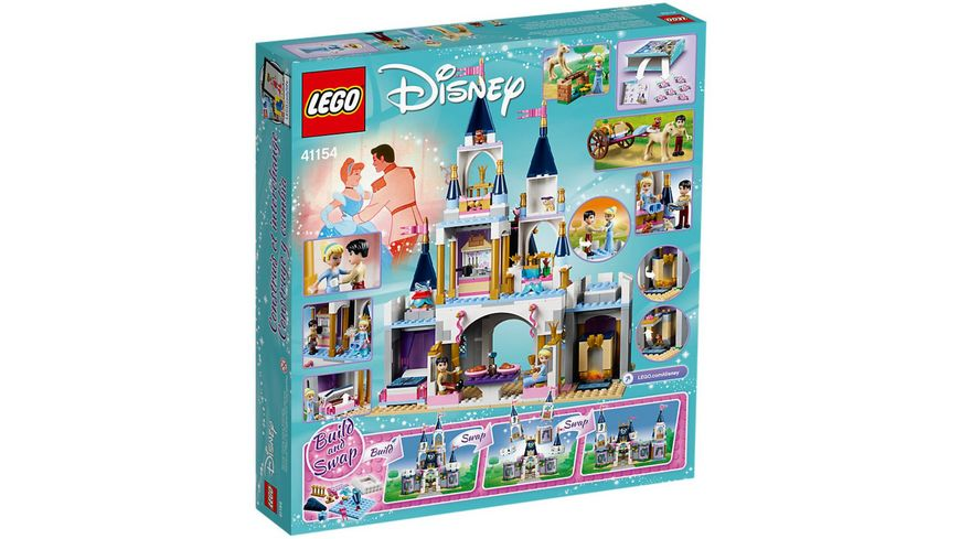 LEGO Disney Princess 41154 Cinderellas Traumschloss