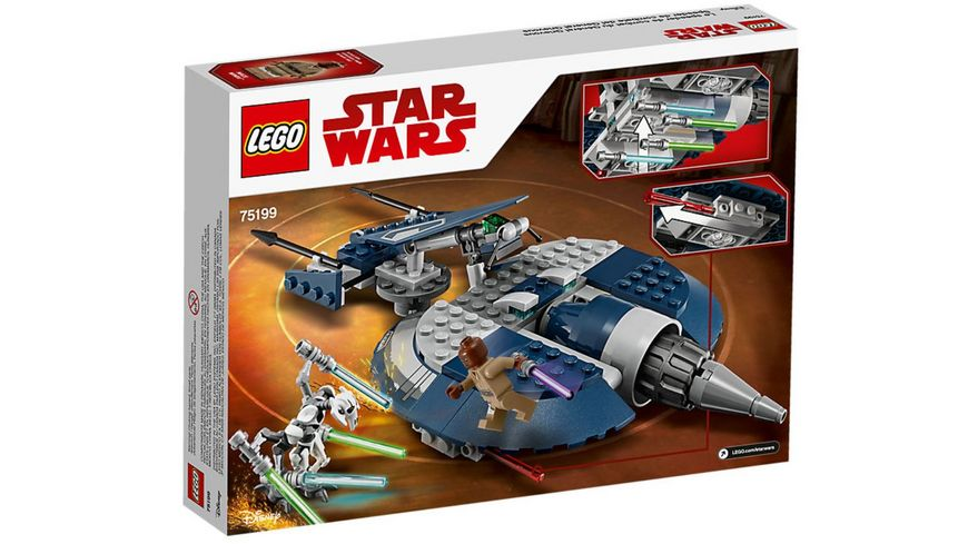 LEGO Star Wars 75199 General Grievous Combat Speeder