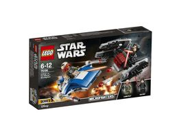 LEGO Star Wars 75196 A Wing vs TIE Silencer Microfighters