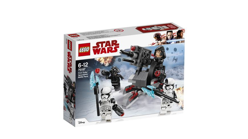LEGO Star Wars 75197 First Order Specialists Battle Pack