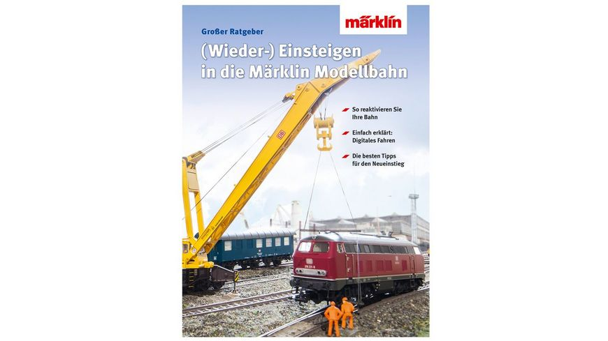 Maerklin 03070 Buch Wiedereinsteigen Umsteigen auf die digitale Modellbahn