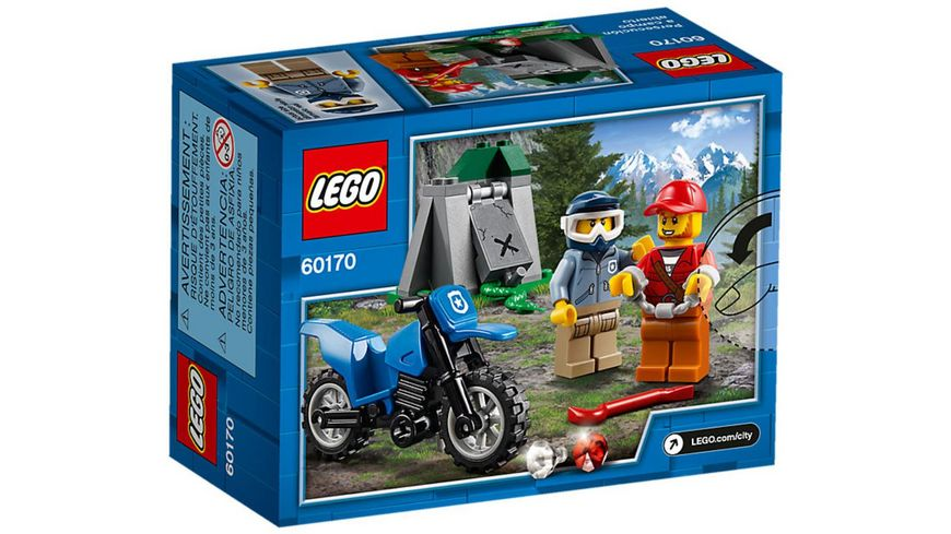 LEGO City 60170 Offroad Verfolgungsjagd
