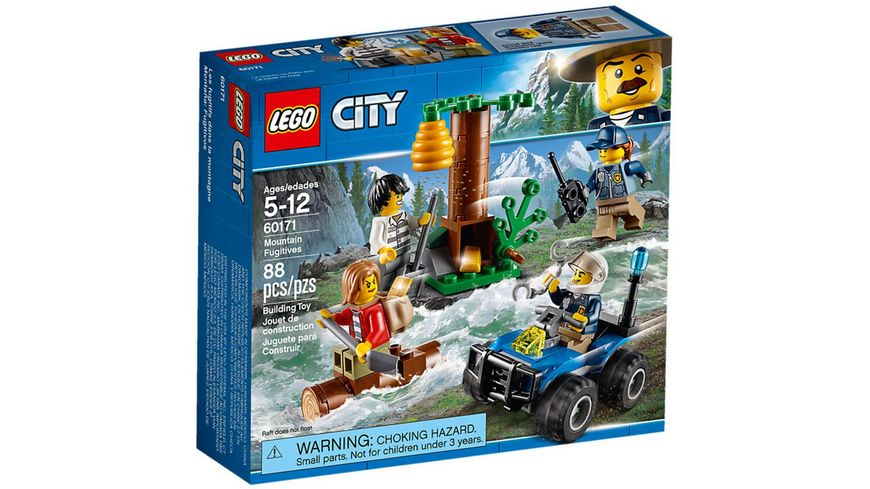 LEGO City 60171 Verfolgung durch die Berge