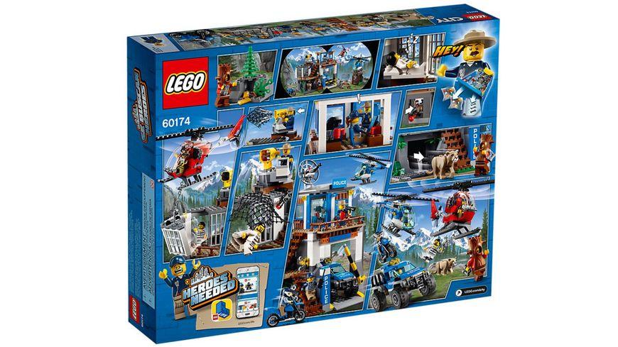 LEGO City 60174 Hauptquartier der Bergpolizei