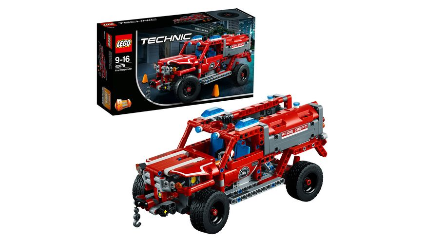 lego technic 42075 first responder online bestellen m ller. Black Bedroom Furniture Sets. Home Design Ideas
