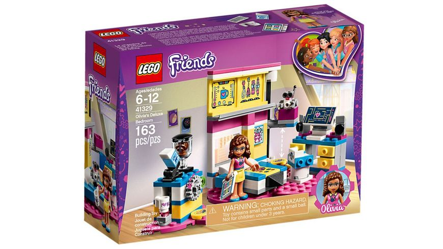 LEGO Friends 41329 Olivias grosses Zimmer