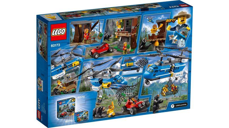 LEGO City 60173 Festnahme in den Bergen