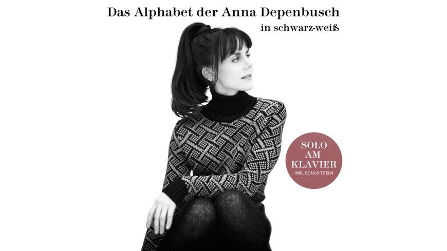 Das Alphabet der Anna Depenbusch in Schwarz Weiss