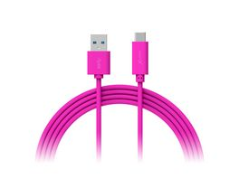 Kabel Colour Line Typ C USB C to USB 3 0 1m Pink