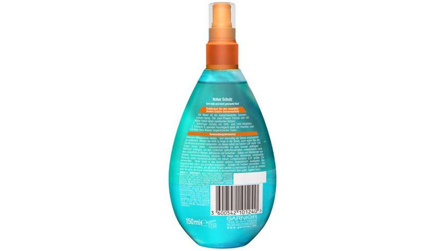 GARNIER AMBRE SOLAIRE UV Water Spray LSF 30
