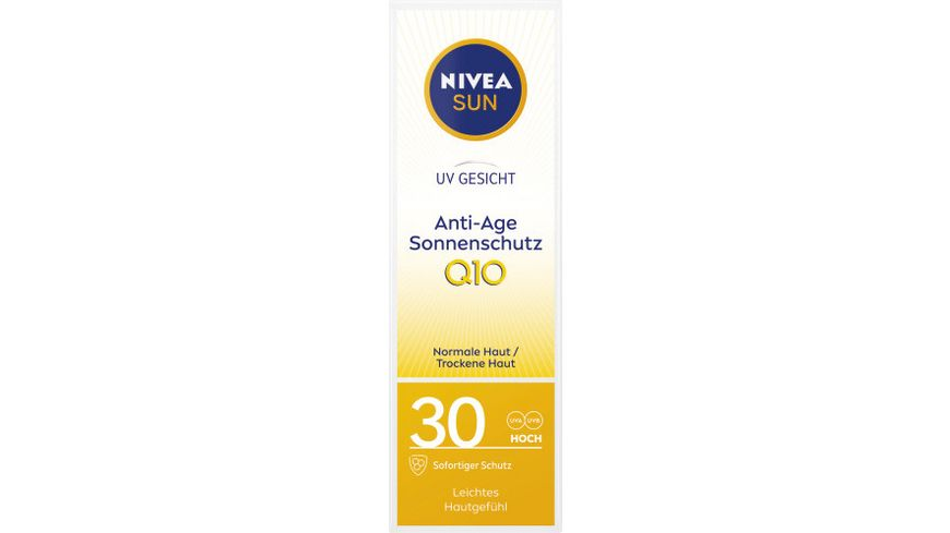 NIVEA sun Face Anti Age Anti Pigmentflecken LSF30
