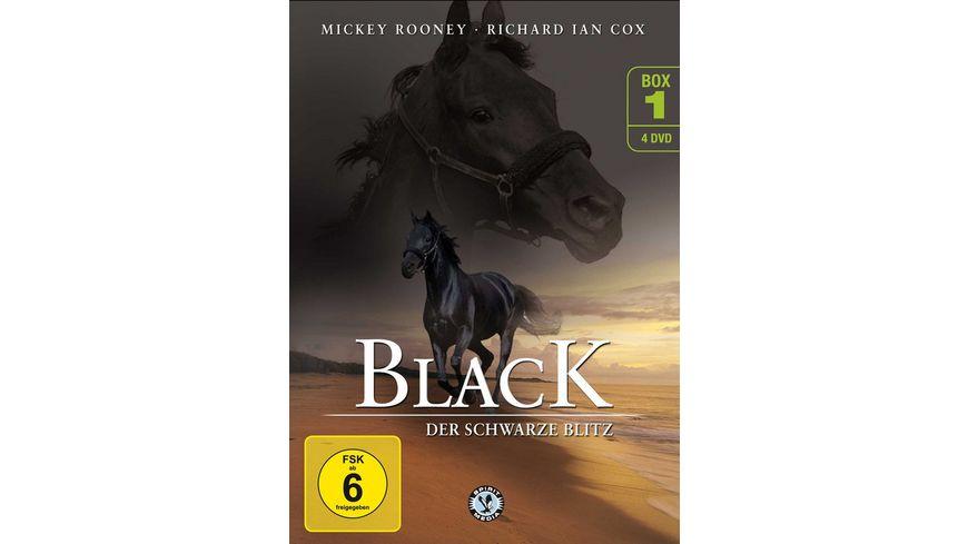 Black Der schwarze Blitz Box 1 4 DVDs