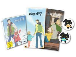 Usagi Drop Vol 2 Limited Mediabook inkl Maxi Poster 2 Sticker