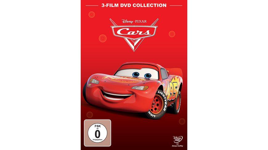 Cars 1 Cars 2 Cars 3 3 Dvds Online Bestellen Muller