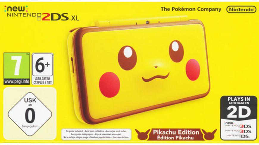 Nintendo New 2DS XL Konsole Pikachu Edition