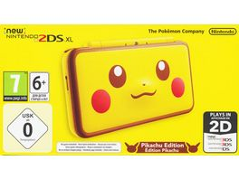 Nintendo New 2DS XL Konsole Pikachu Edition