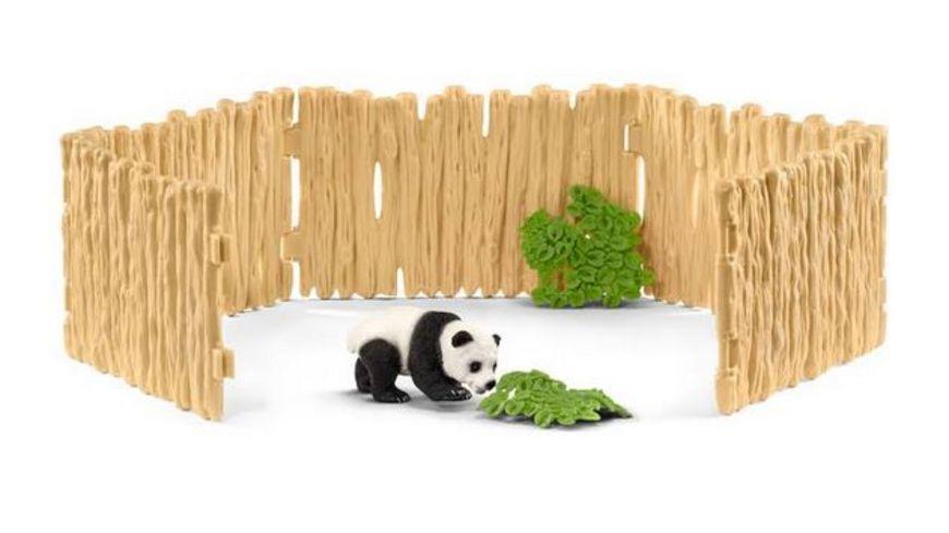 Schleich Wild Life Gehege fuer Pandabaeren