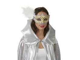 Andrea Moden Venezia Maske gold silber