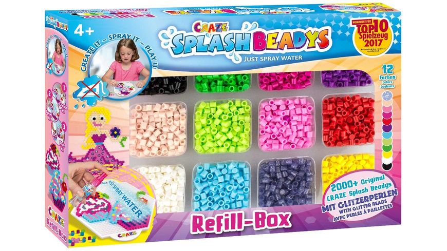 CRAZE Splash Beadys Refill Set Girls