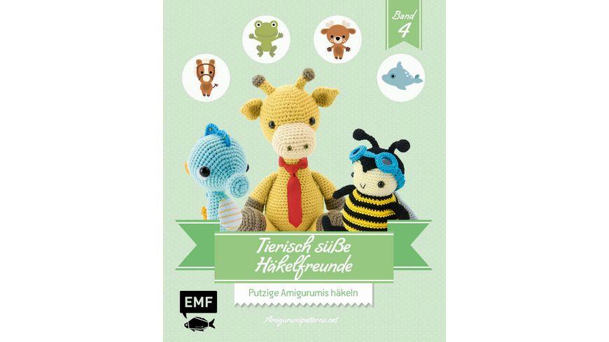 Buch Edition Michael Fischer Tierisch suesse Haekelfreunde 4