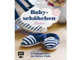 Buch Edition Michael Fischer Baby Schuehchen Tick Schuhklassiker fuer kleine Fuesse stricken