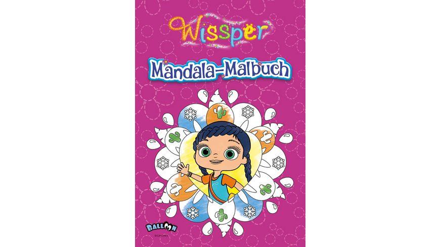 Buch Egmont Wissper Mandala Malbuch