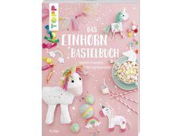 Buch frechverlag Das Einhorn Bastelbuch