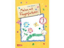 Buch Carlsen Ich kann Malen mit Fingerfarben
