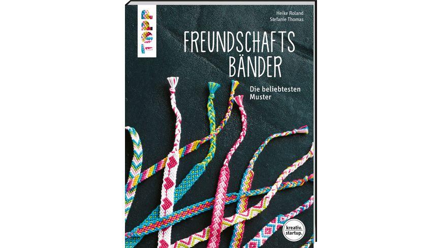 Buch frechverlag Freundschaftsbaender kreativ startup
