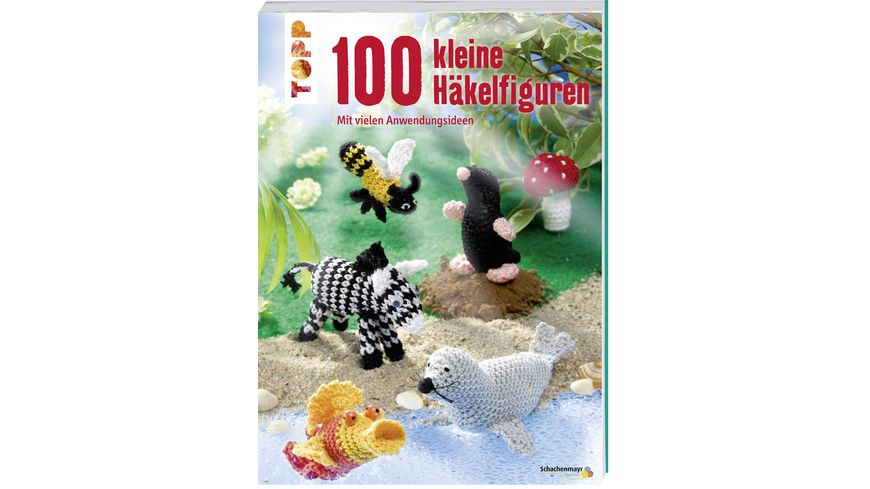 Buch frechverlag 100 kleine Haekelfiguren