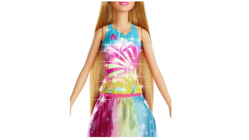 Mattel Barbie Dreamtopia Regenbogen Koenigreich Magische Haarspiel Prinzessin