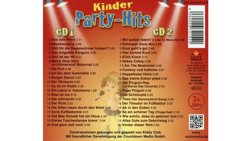 40 Kinder Party Hits 2CD