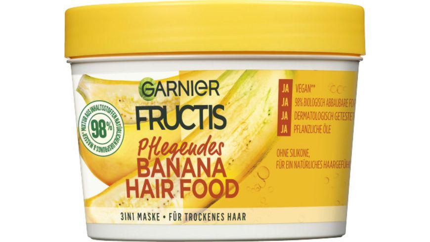 GARNIER FRUCTIS Pflegendes Banana Hair Food