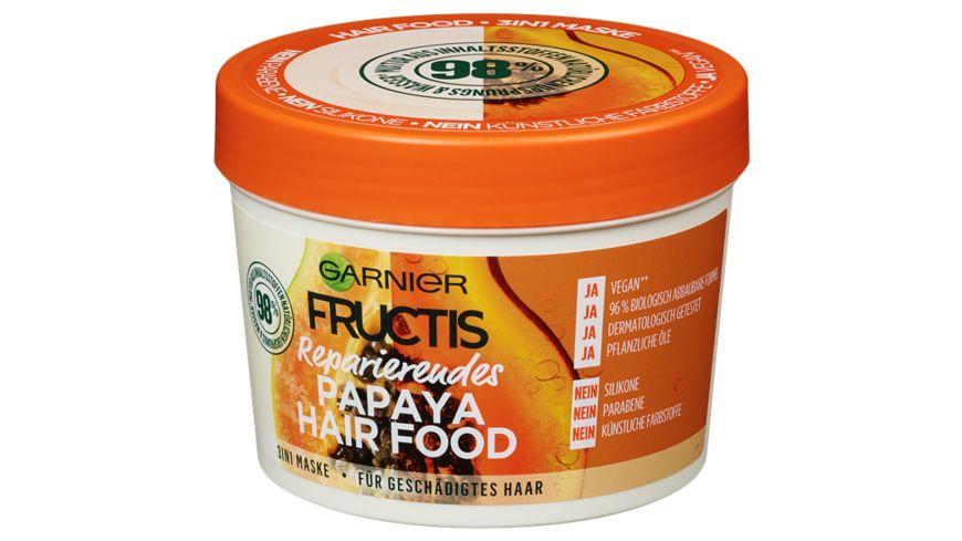 GARNIER FRUCTIS Reparierendes Papaya Hair Food