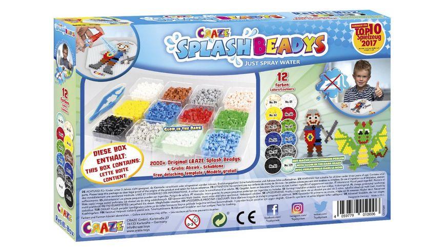 CRAZE Splash Beadys Refill Box Boys