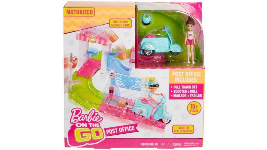 Mattel Barbie On the Go Poststation Set
