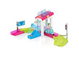 Mattel Barbie On the Go Poststation Set