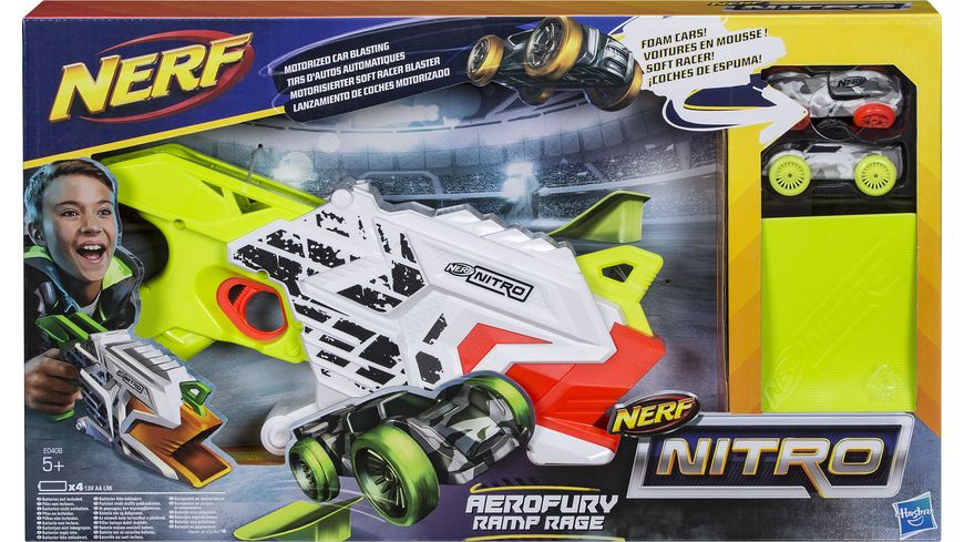 Hasbro Nerf Nitro Aerofury Ramp Rage