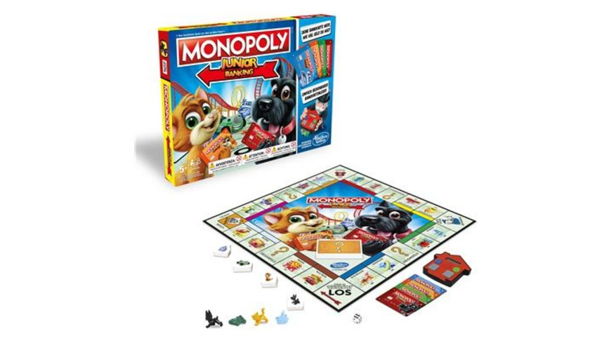 Hasbro Gaming Monopoly Junior Banking