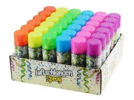 Makotex Luftschlangen Spray 60ml farblich sortiert