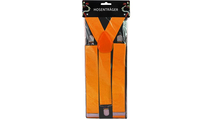 Makotex Hosentraeger breit orange