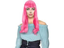 Makotex Peruecke lang pink